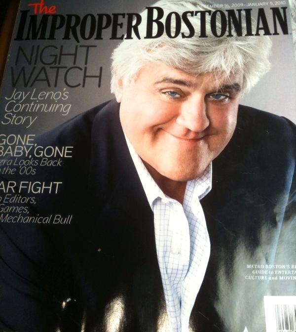 Jay Leno, The Improper Bostonian