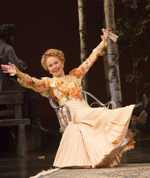 "Kate Burton, ""The Seagull"" at Huntington Theatre"