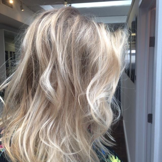 Blonde Balayage by Patrice Vinci