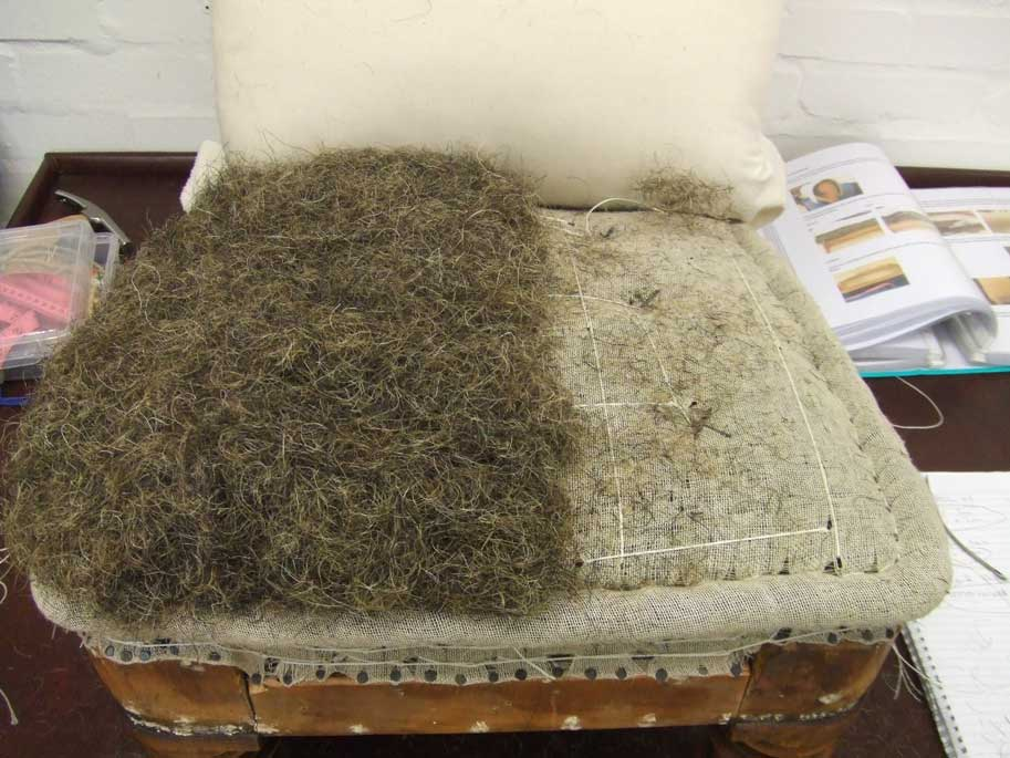 Second Stuffing   Mixed Horse Hair
