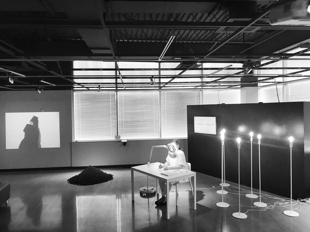 a measure of  installation view