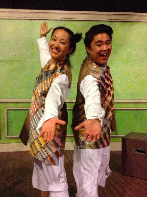 Feng (Isabel To) and Long (Christopher Juan)