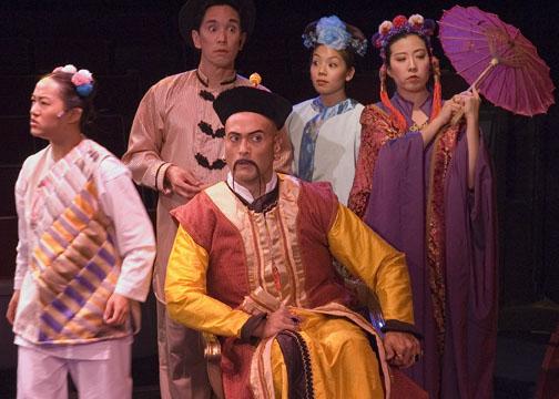 Isabel To, Ted Bigornia, DC Scarpelli, Lindsay Hirata, Alexis Wong (Altarena Playhouse, 2013)  Photographer: Patrick Tracy