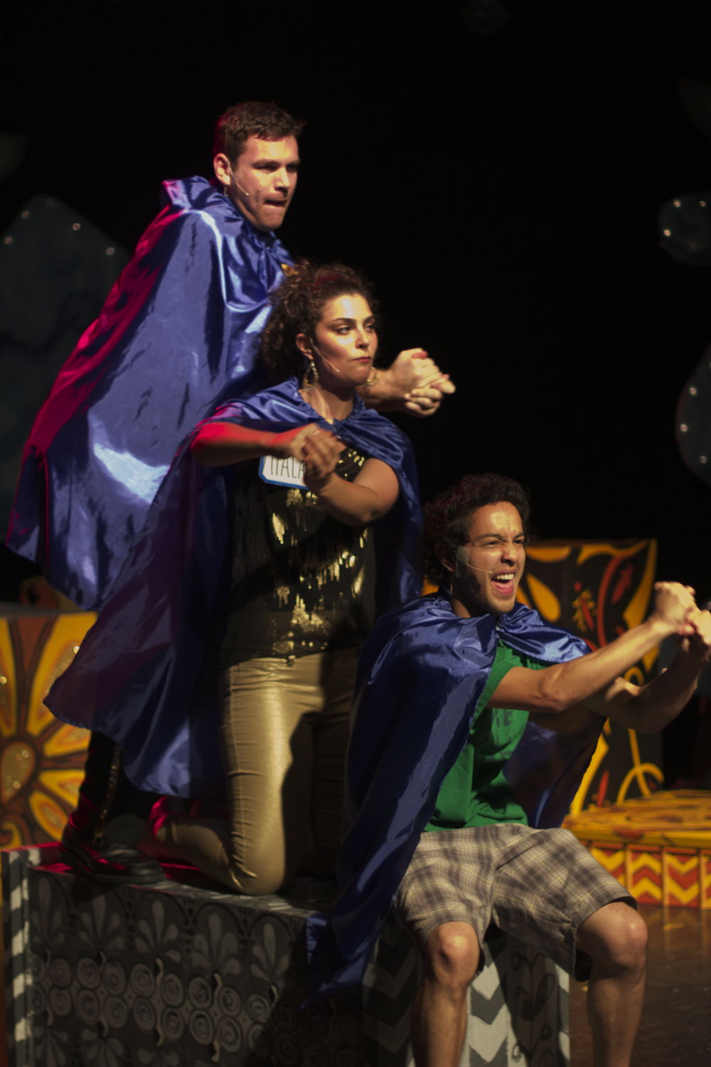 Steven Shear, Michelle Drexler, Vince Rodriguez (Bay Area Children's Theatre, 2012)  Photography by Joshua Posamentier