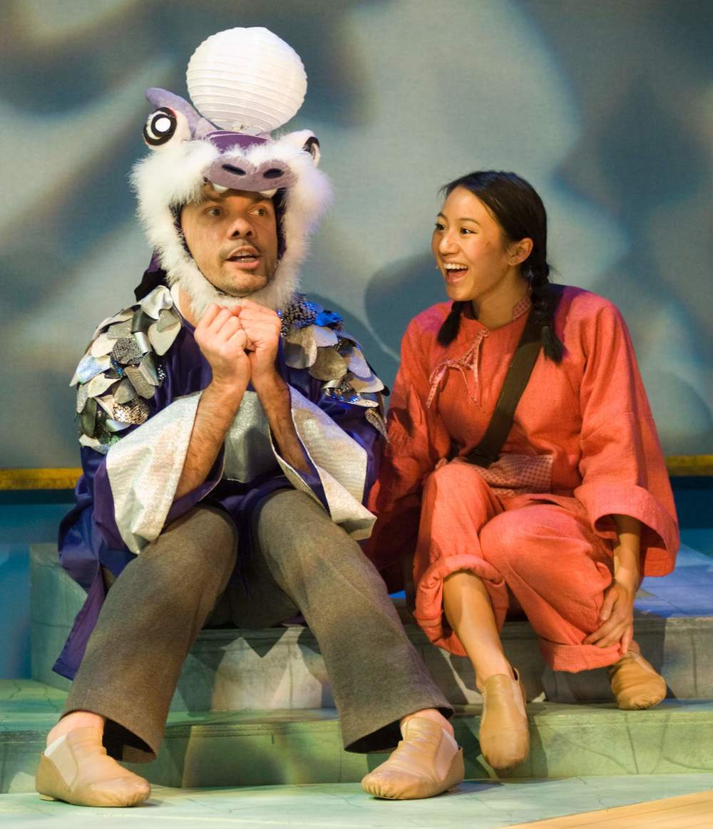 Hugo Cabajal, Grace Ng (Bay Area Children's Theatre, 2014)  Photography by Joshua Posamentier