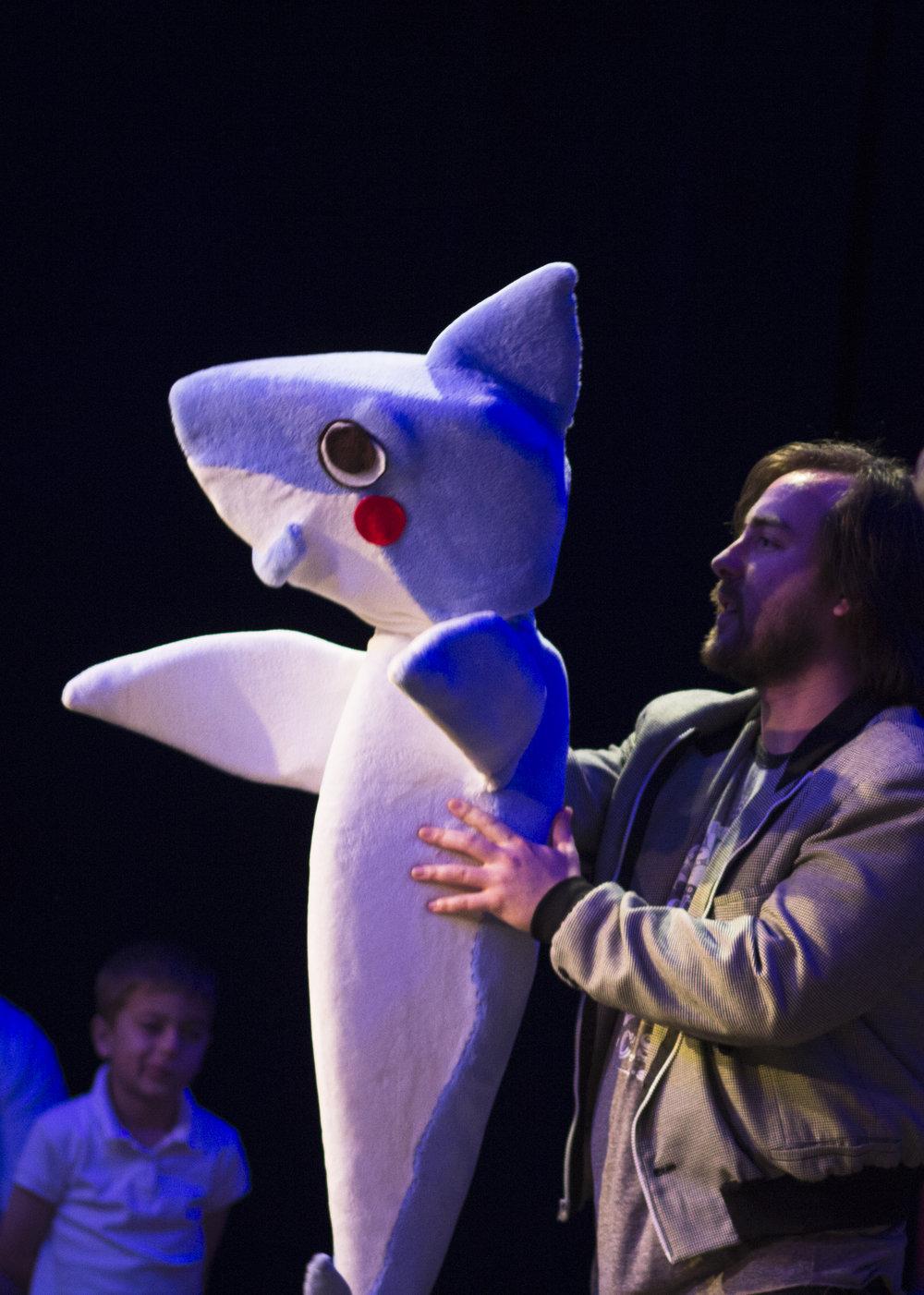 Austin Zumbro as Shades with Sharky!