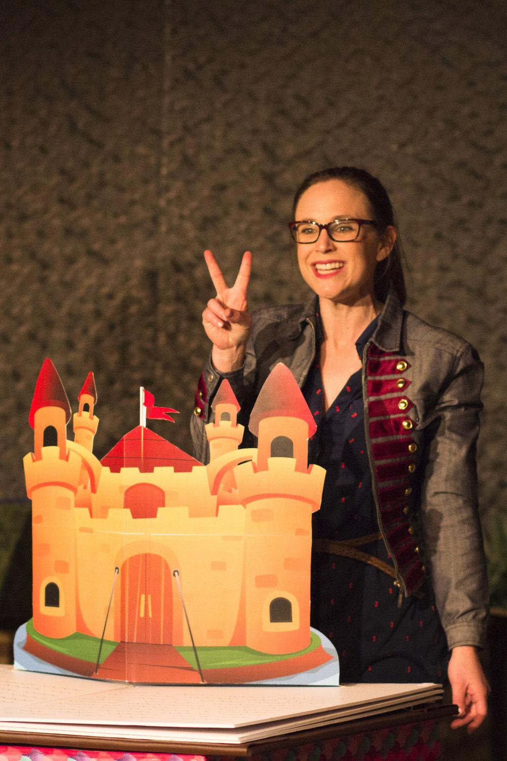 Hannah Dworkin as The Captain