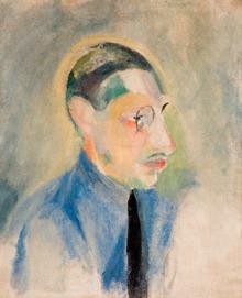 Portrait of Igor Stravinsky by Robert Delaunay
