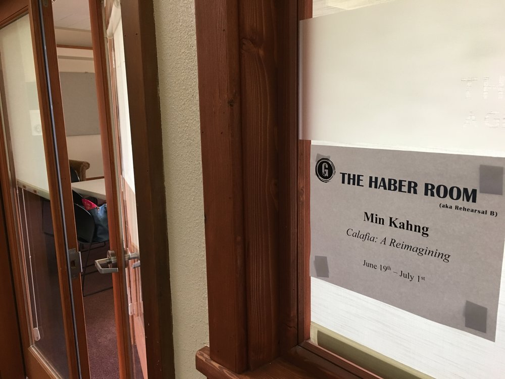 The Haber Room: The room I ended up writing in the most.