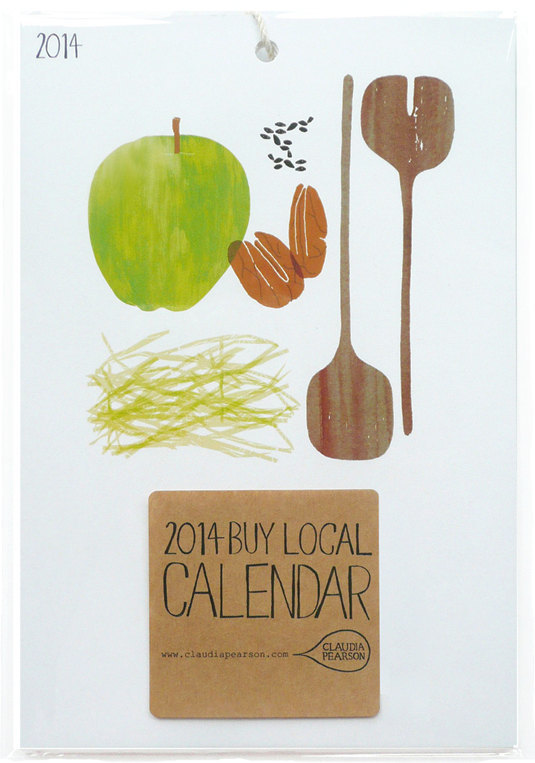 Buy Local Calendar by Claudia Pearson