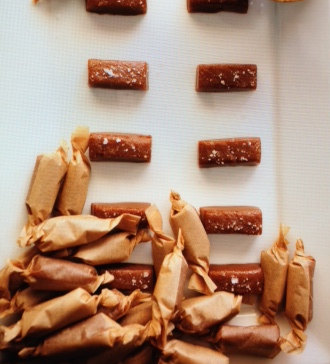 Old Fashioned Salted Caramels by Black Tie Caramel