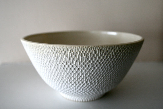 Stoneware bowl by Leili Design based in Boston, MA.