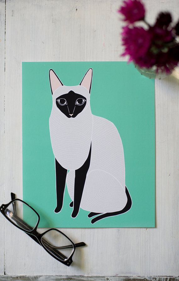 Cat desk calendar by Gingiber