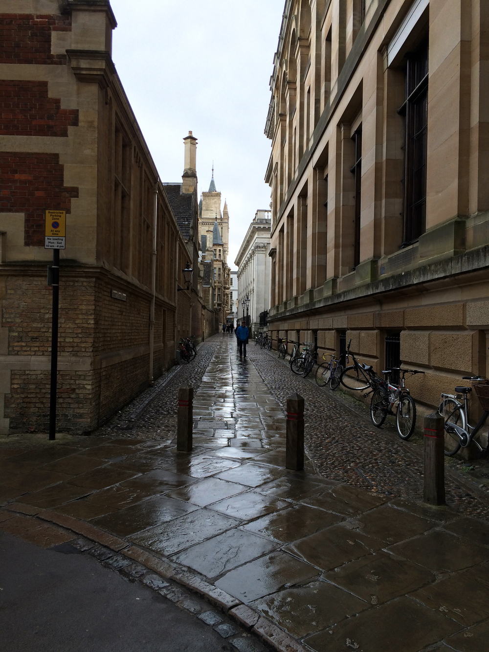 Senate House Passage in Cambridge