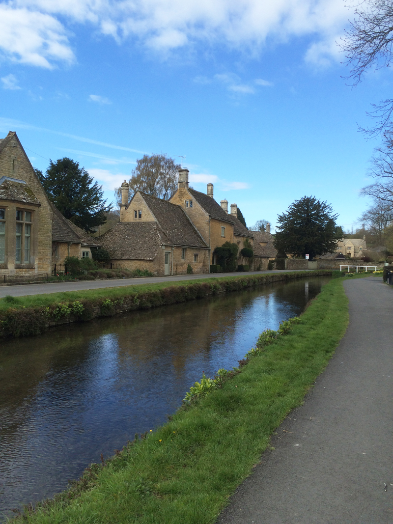 "We spent a night in the tiny village of Lower Slaughter in the Cotswolds. There were hardly any tourists and the village was so tranquil. Kids kept saying how this must be the ""Shire""."