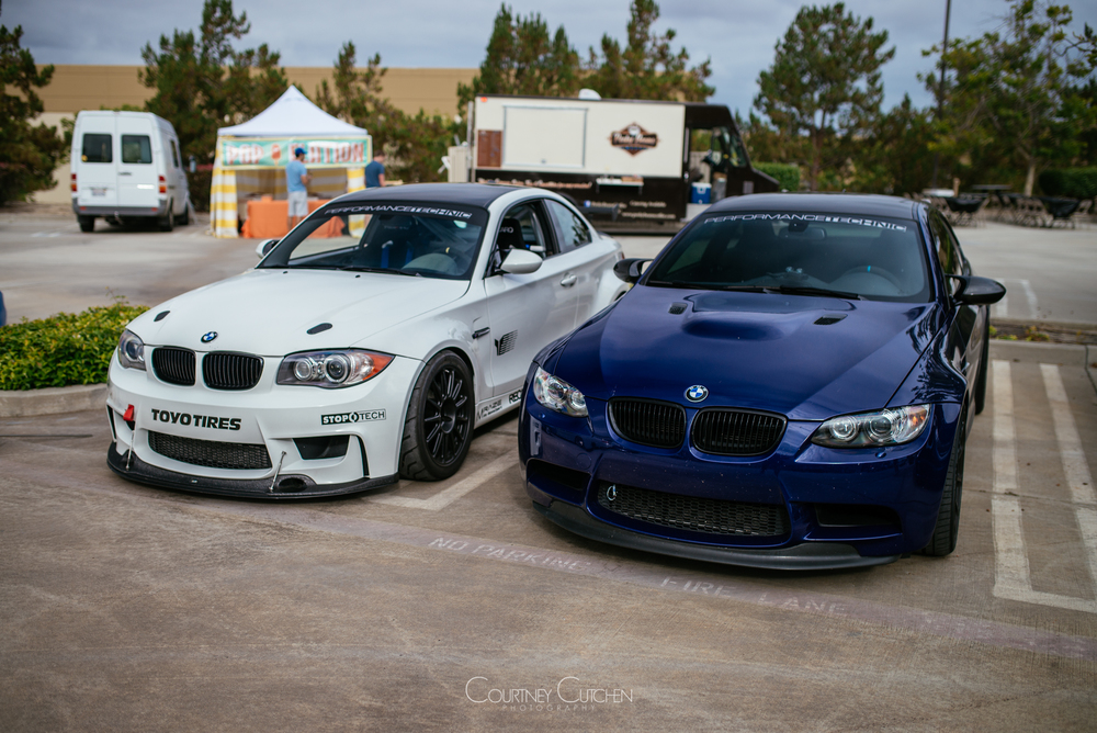 Marco's Clone and M3 stroker were gathering attention before the show had even started!
