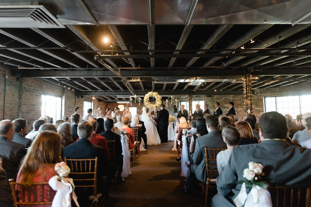 The Wedding of Bethany & Sam at The Loft Dock580