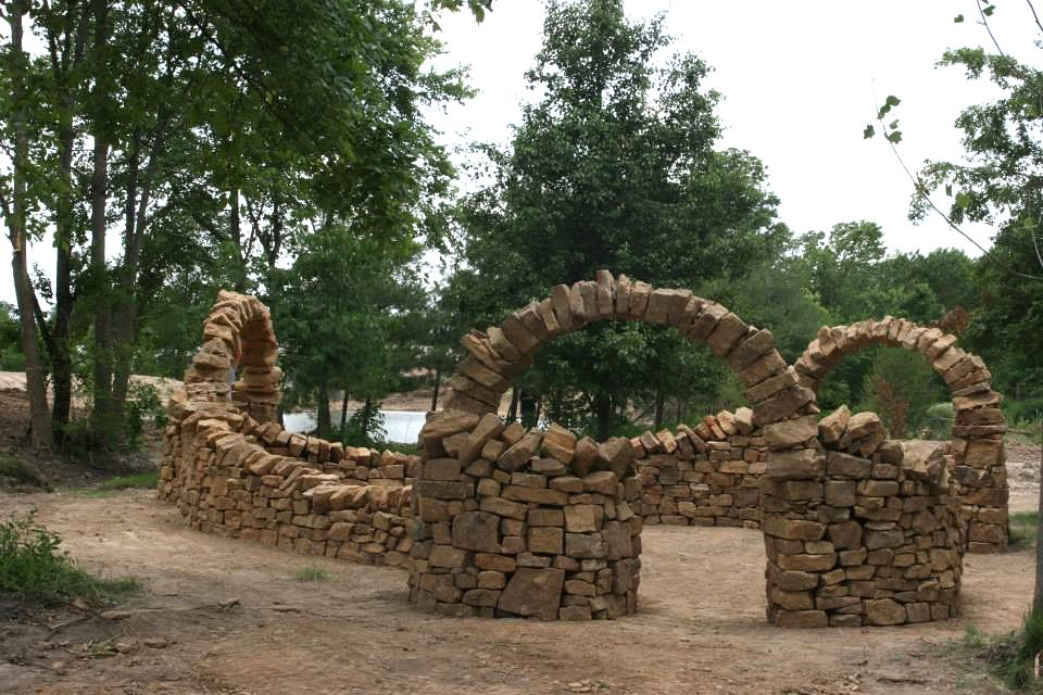 Infinity Arch, Copyright  Mandala Gardens , Marion Illinois. Image thanks to Diana Tigerlily and Greg Reid.