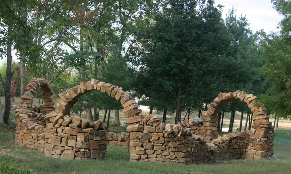 Infinity Arches, Mandela Gardens, Marion Illinois.
