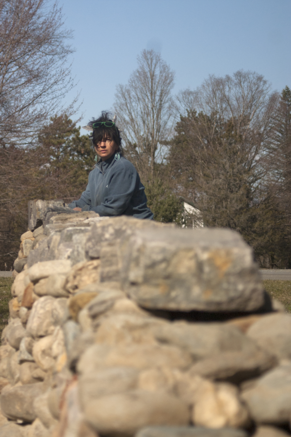 """Rock Star, Stonemason and artist Thea Alvin is carving out her own monumental path"" by Zoe Donaldson, The Oprah Magazine, November, 2013"