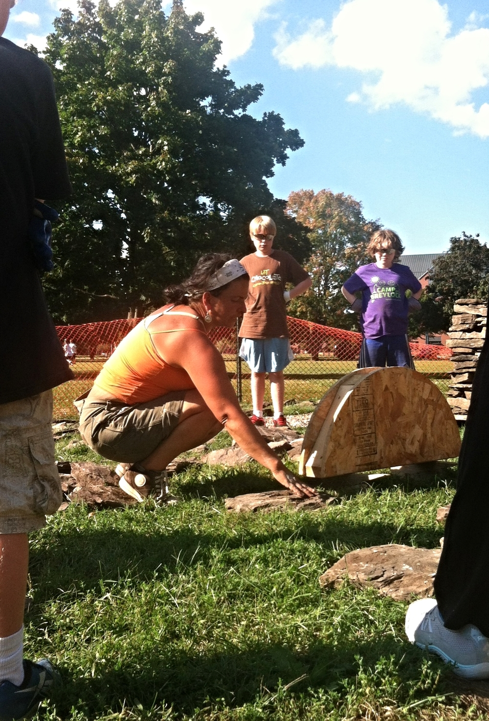 """Learning From Plants and Stones at St.Mike's Teaching Gardens,"" by Natalie Williams, Seven Days, September 3, 2014"