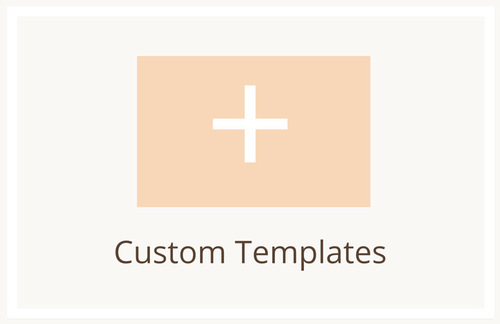 If you would like something tailored to your specific needs, then you can request your own custom template. Our team will build it from the ground up!