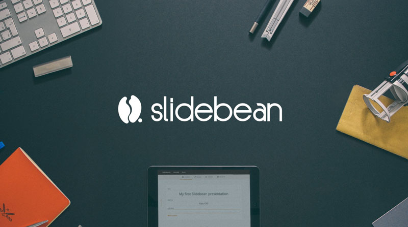 pitch deck template for a startup presentation � slidebean