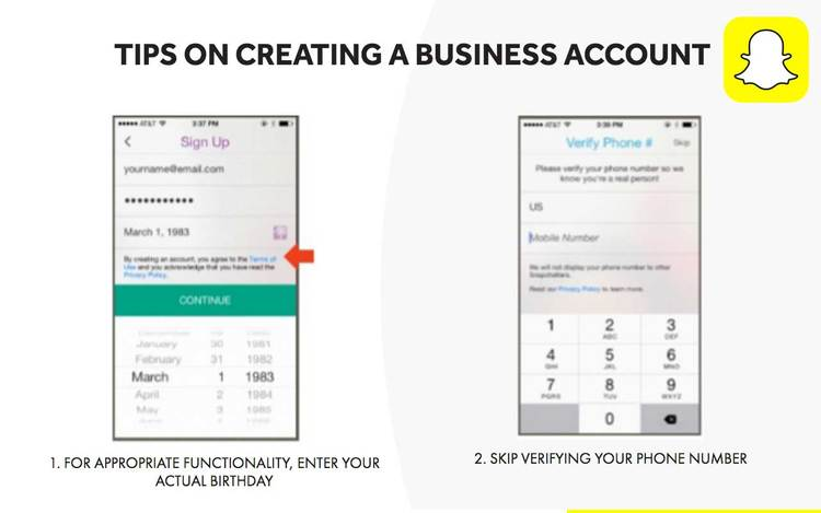 snapchat-tips-on-creating-a-business-account-pitch-deck
