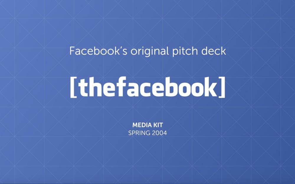 Facebook-pitchdeck