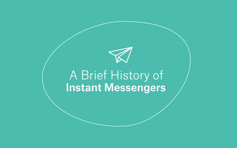 A Brief History of Instant Messengers -