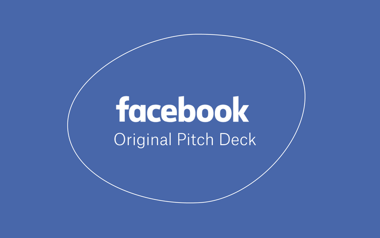 Facebook Original Pitch Deck -
