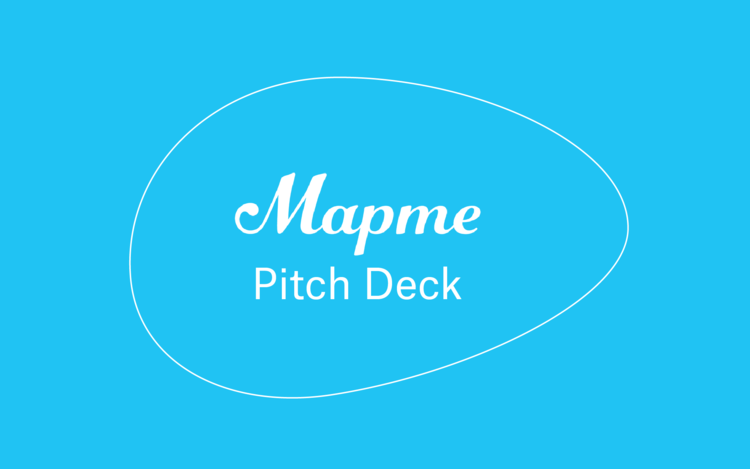 Mapme Pitch Deck -