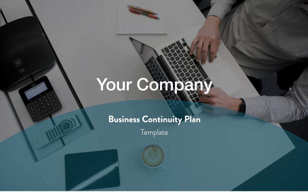 Business Continuity Plan Template Free Pdf Ppt Download Slidebean