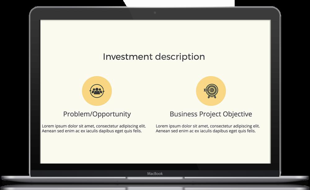 UC Davis Business Case Template Free PDF PPT Download Slidebean