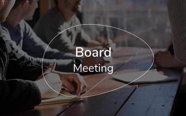 board meeting presentation template slidebean