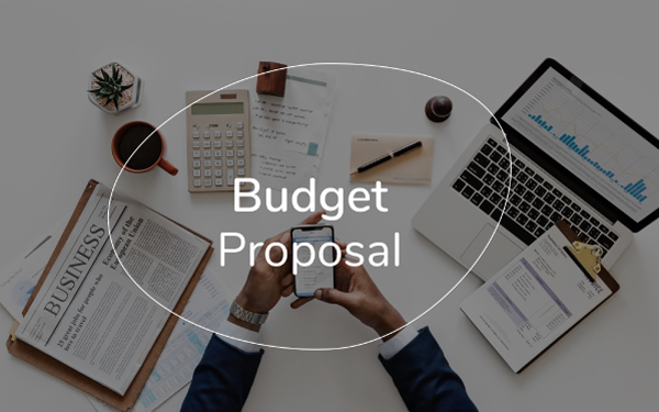 budget proposal template free pdf ppt download slidebean