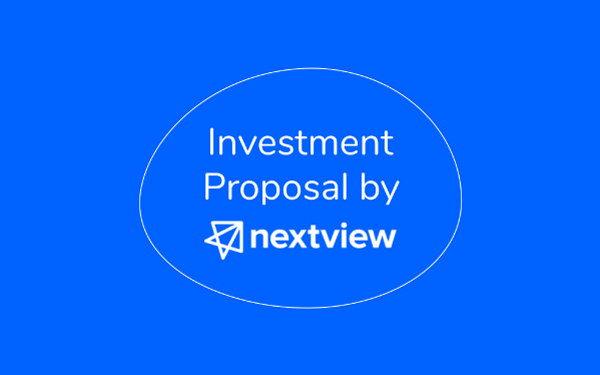 Investment Proposal Template By Nextview Ventures Slidebean