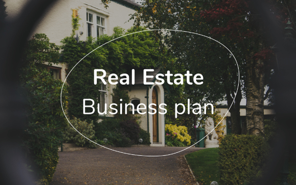 real estate business plan template free pdf ppt download