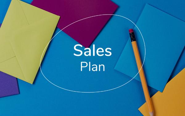 sales plan template pdf ppt download slidebean