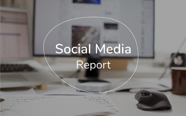 Social Media Report Template Free PDF PPT Download Slidebean - Social media report template download