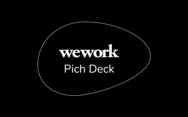 Wework Pitch Deck Template Free Pdf Ppt Download Slidebean