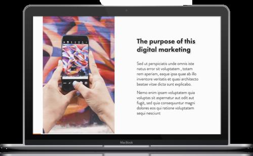 Digital Marketing Proposal Template Free Pdf Ppt Download Slidebean