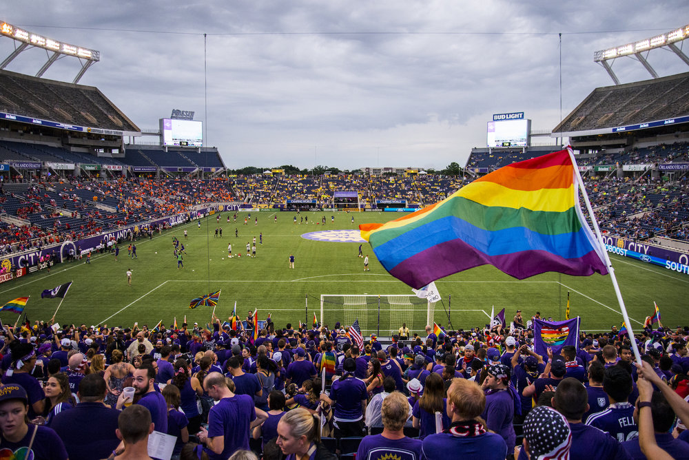 Orlando City Soccer Tribute Game