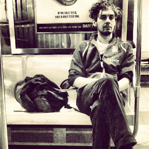 Stranger on a  Subway  train.