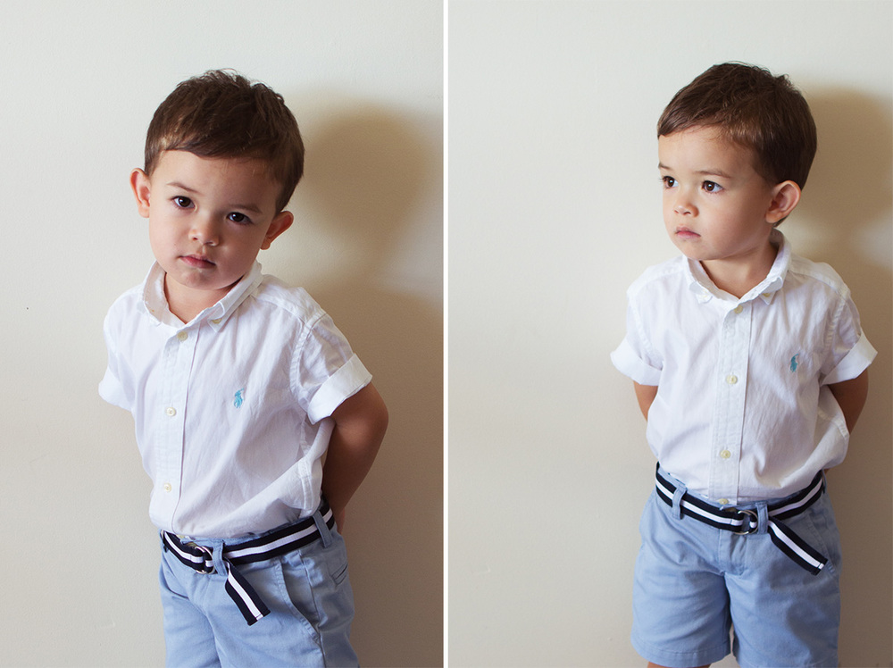 The next Ralph Lauren model - and cuter than any I've ever seen! :)