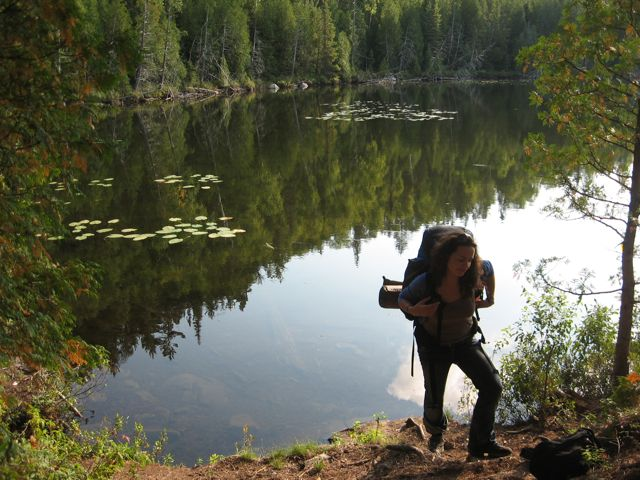 Foraging adventure in Temogami