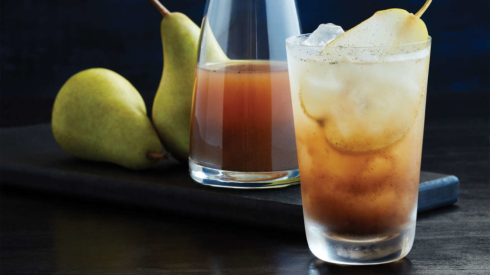 Vanilla Pear Shrub   Photo by Darren Kemper