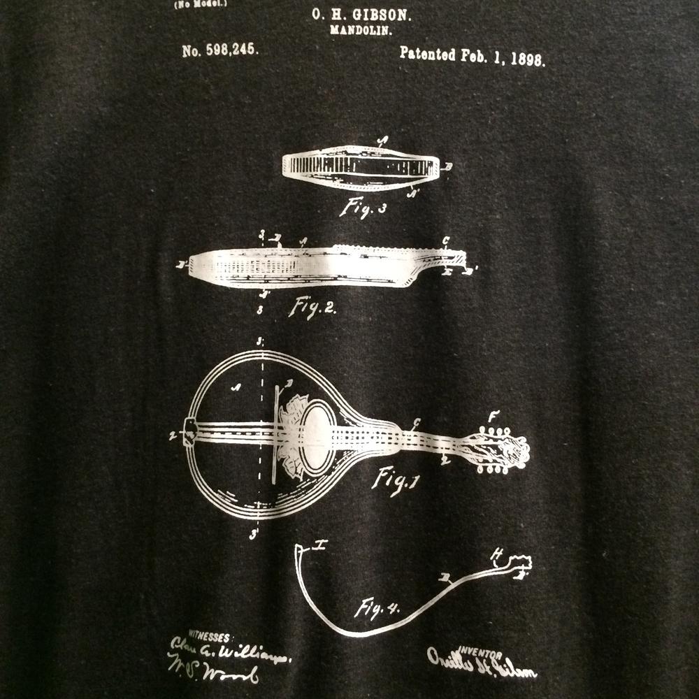 Mandolin Patent T Shirt