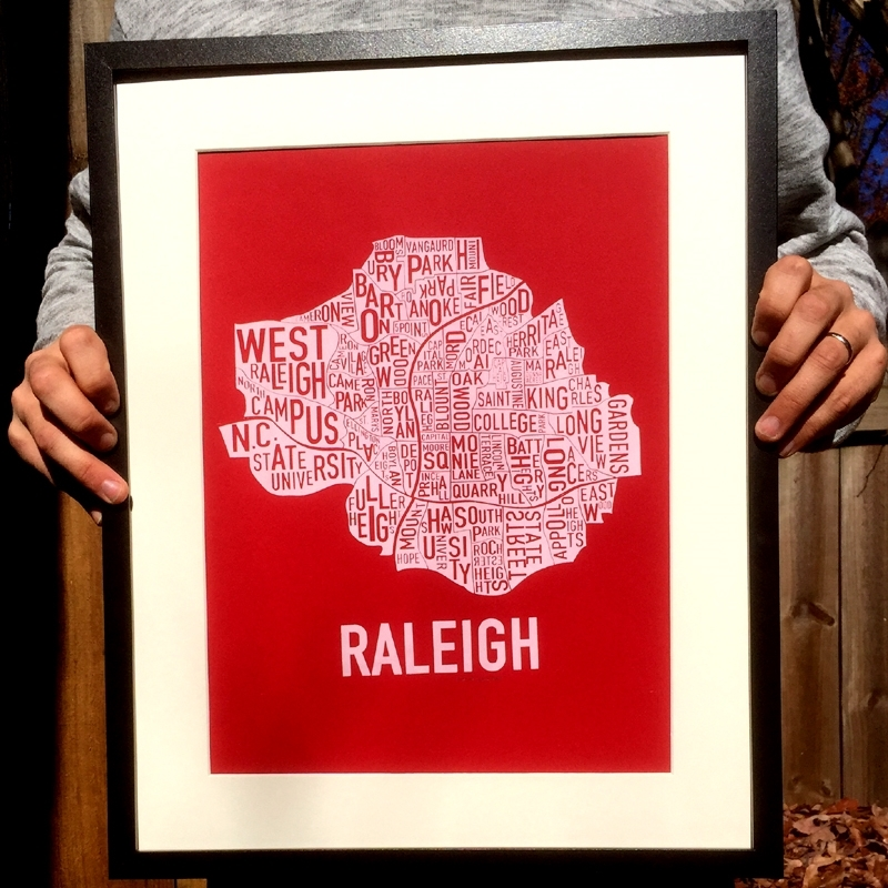Raleigh Neighborhood Print