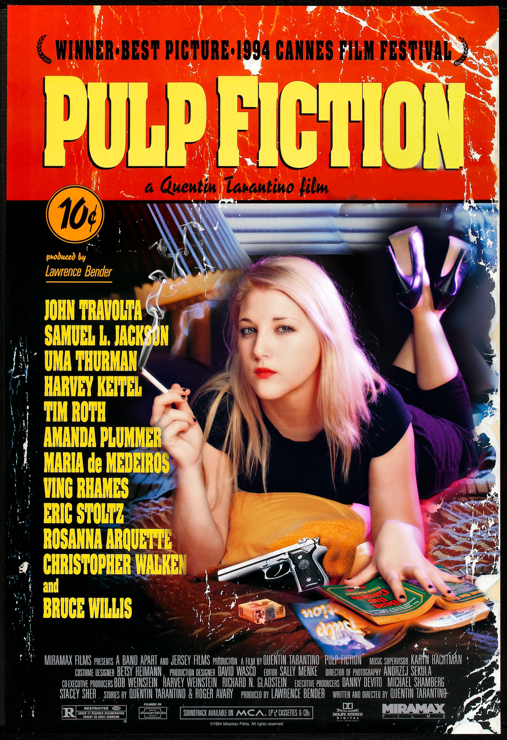 Pulp Fiction Re-Creation - December 2011